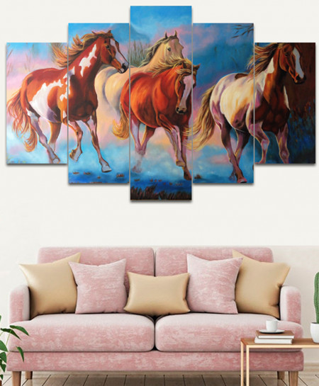 Horse Stylish Canvas Wall Frame SA-29