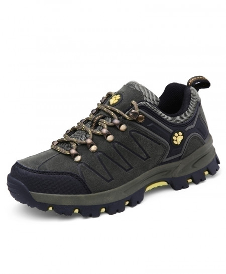 Army Green Couples Hiking Tactical Sneakers Rubber Bottom Trekking Shoes