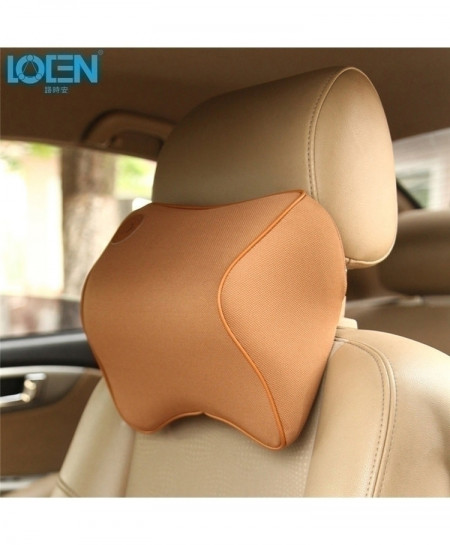 Coffee Neck Rest Memory Foam Cushion Support Pillow