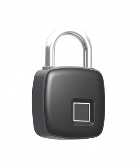 Small Smart Fingerprint Security Electronic Padlock