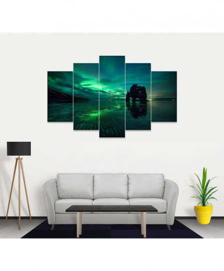 Relaxing Scenery Stylish Canvas Wall Frame SA-51