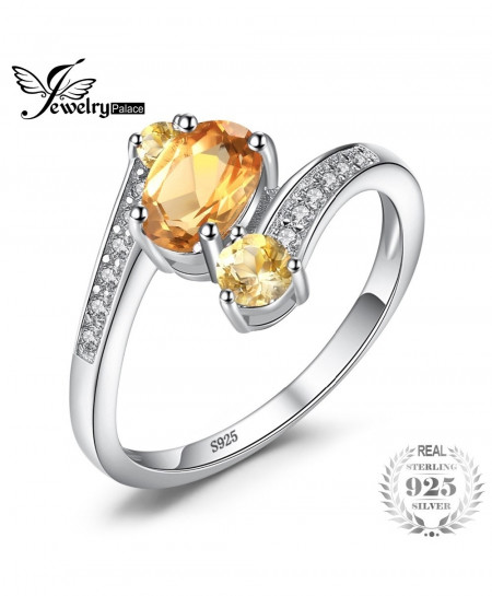 JewelryPalace Sterling Silver Stylish Design Ring