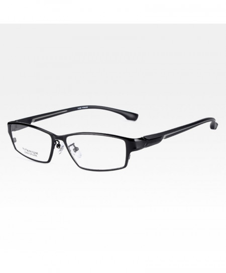 Reven Jate Black Gray Ultra Light Flexible Electronic Plating Metal Material Optical Frame