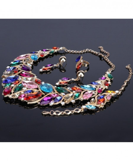 Fashionable Multicolor Jewelry Set For Women
