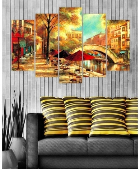 Digital Printed Painting Canvas Wall Frame BNS-261