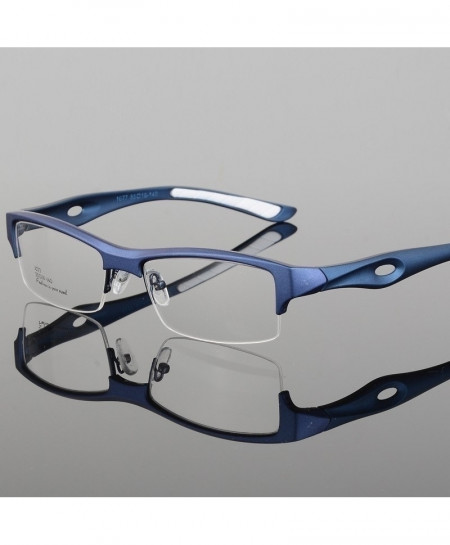 ELECCION Blue Sport Style Glass Frame