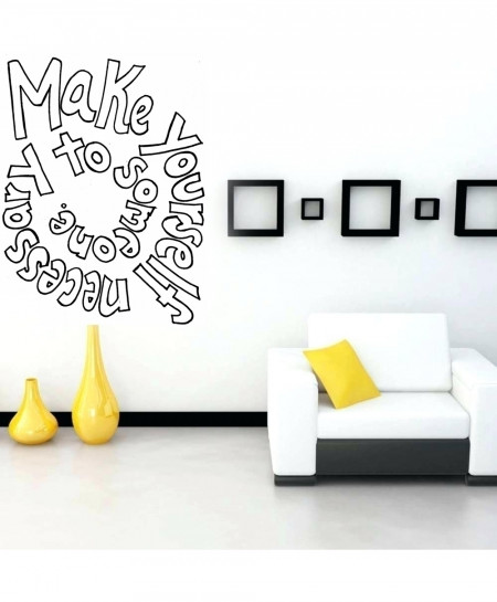 Beautiful Quote Design Wall Decal BNS-223