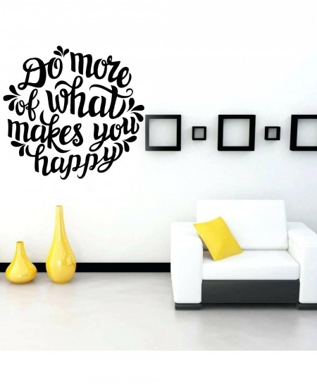 Do More What Makes You Happy Wall Decal BNS-213