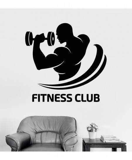 Fitness Motivation  Wall Decal BNS-208