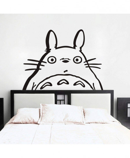 Totoro Head Design Wall Decal BNS-198