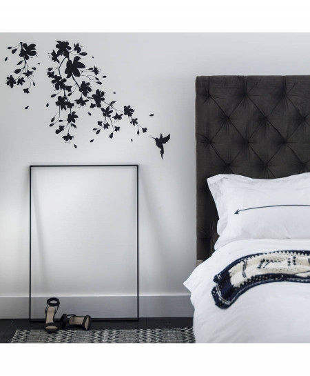 Modern Bedroom Wall Decal BNS-186