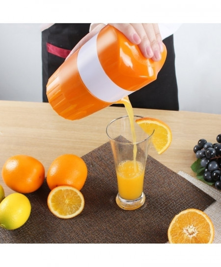 Pack Of 2 Plastic Hand Manual Orange Juicer