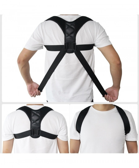 Adjustable Back Posture Corrector Lumbar Brace Support Belt