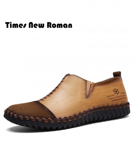 Times New Roman Stylish Design Loafers