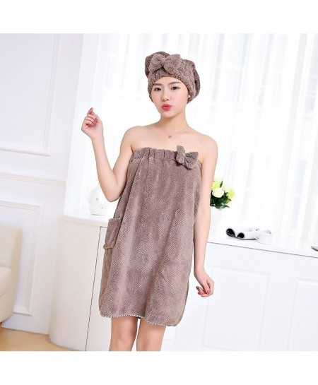 XC USHIO Soft Magic Wearable Lady Bath Towel Set