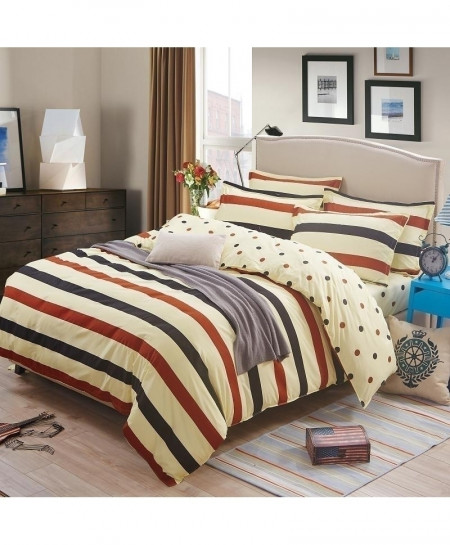 Nake Marry Linen Classic Pastoral Stylish Bedsheet