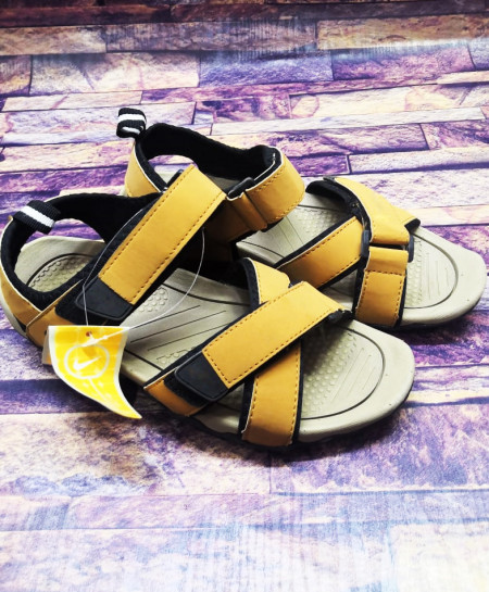 Khaki Strap Stylish Design Casual Sandal LW-7192