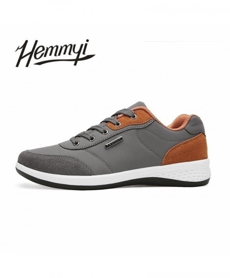 Hemmyi Gray Stylish Lace-up Casual Shoes