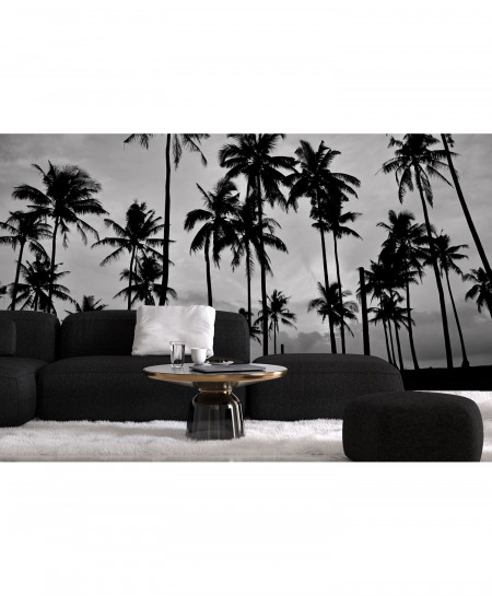 3D Night Palms Wallpaper BNS-310