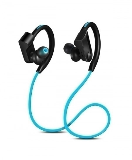 CBAOOO Blue Sport Bluetooth Wireless Earphones