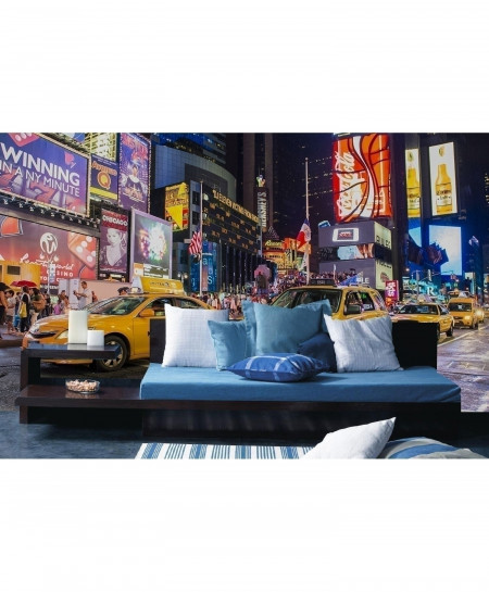 3D NYC Traffic Wallpaper BNS-333