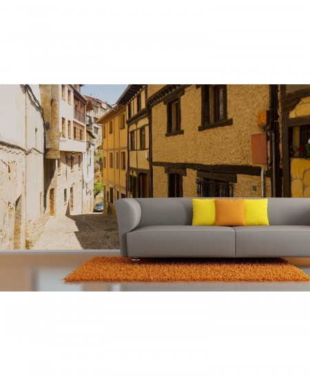3D Spain Old Houses Wallpaper BNS-353