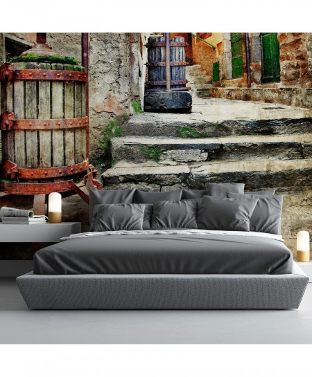3D Old Italian Street Wallpaper BNS-350