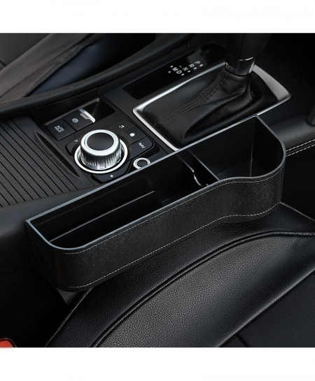 Audew Black Right Car Seat Crevice Gaps Storage Box