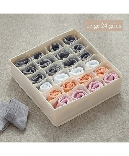 Luluhut Beige 24 Grids Multi-Functional Storage Box