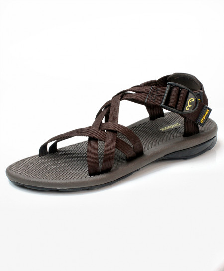 Black Gray Stylish Design Casual Sandal DR-705