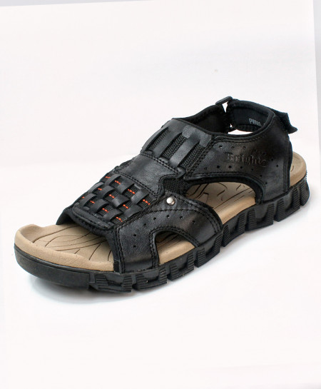 Black Stylish Design Casual Sandal DR-709