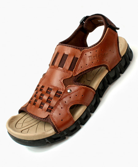 Brown Stylish Design Casual Sandal DR-714