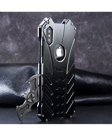 R-JUST Aluminum Metal Bumper Frame Armor iPhone Case