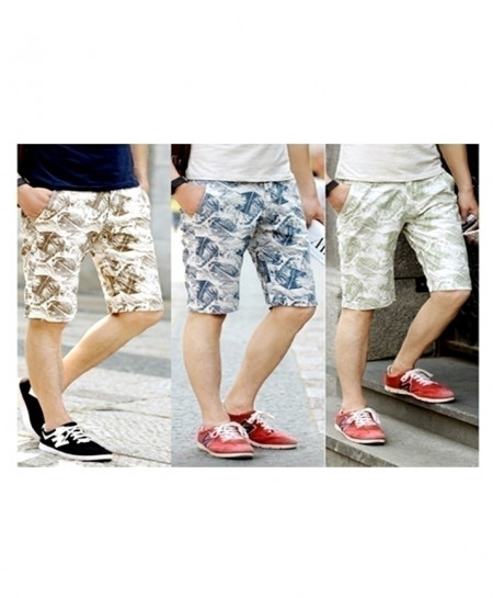 Pack Of 3 Printed Shorts SIK-033
