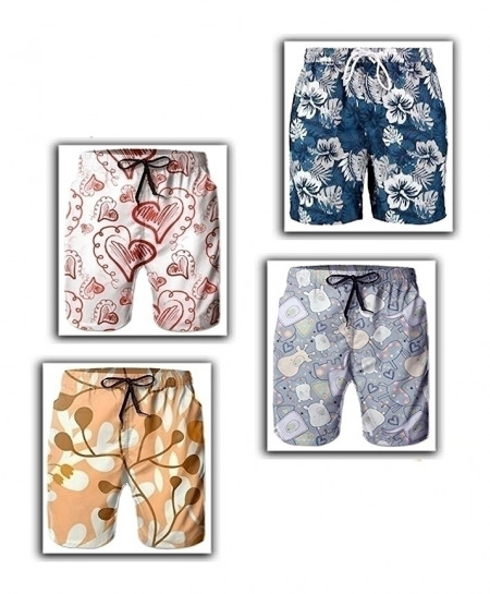 Pack Of 3 Printed Shorts SIK-030