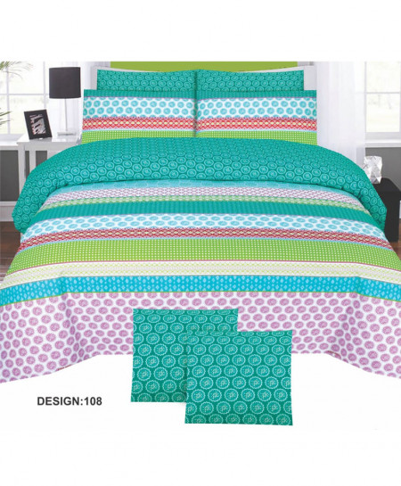 MultiColor Cotton Bedsheet PBS-H-108