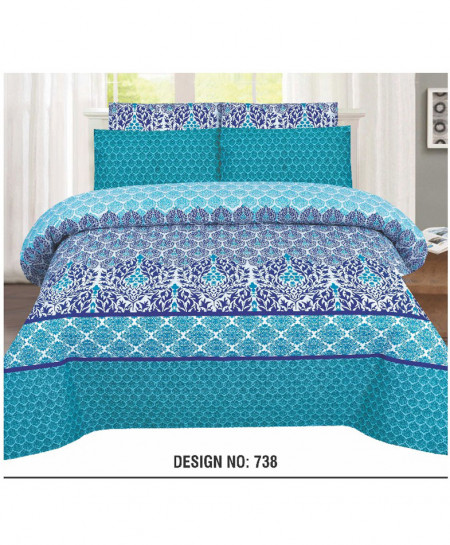 MultiColor Cotton Bedsheet PBS-H-738
