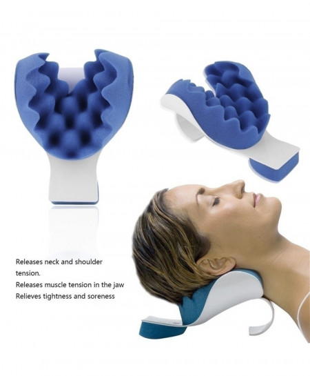 Neck Support Tension Reliever Neck Shoulder Relaxer