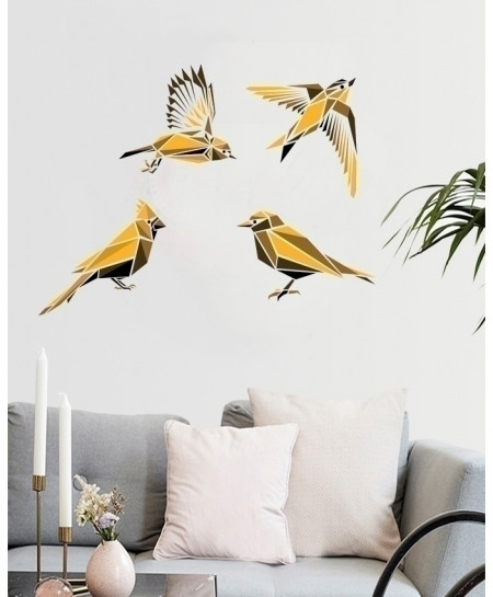 Birds Printed Pattern Design Wall Decal BNS-424