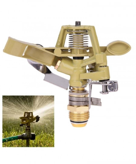 Copper Rotate Water Spray Nozzle Connector Rocker Arm Irrigation Sprinkler System