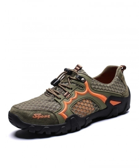 Vancat Green Breathable Casual Shoes