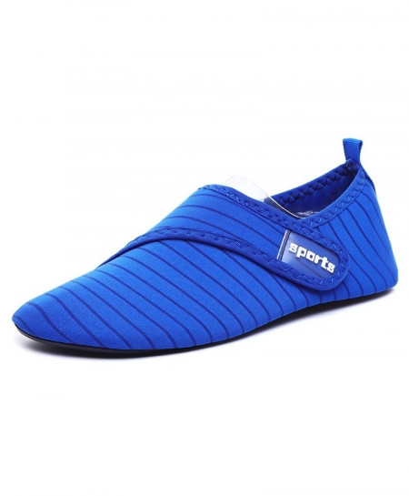 ZYYZYM Blue Stretch Fabric Eva Casual Shoes