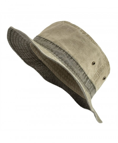VOBOOM Khaki Protection Cotton Solid Hats