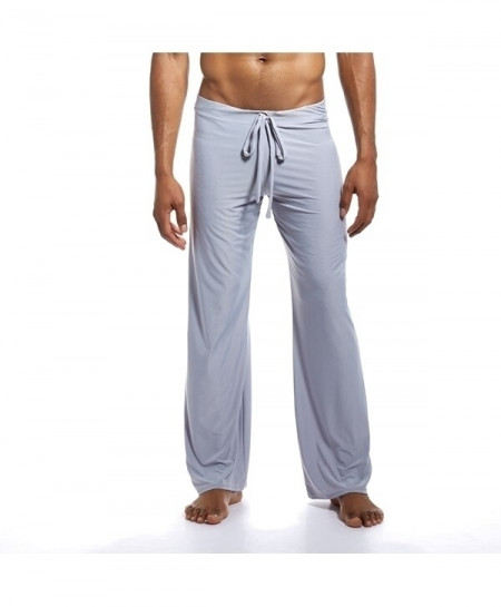 JOCKMAIL Gray Spandex Straight Midweight Pants