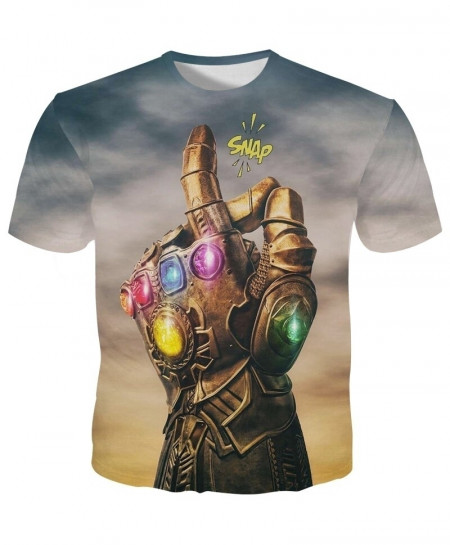 YOUTHUP 3D Thanos Snap T-Shirt