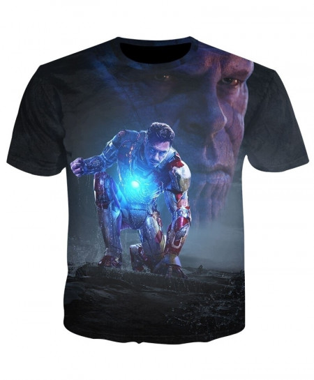 YOUTHUP 3D Avengers End Game 4 T-Shirt