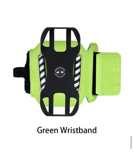 Green Wristband Sports Rotatable Case