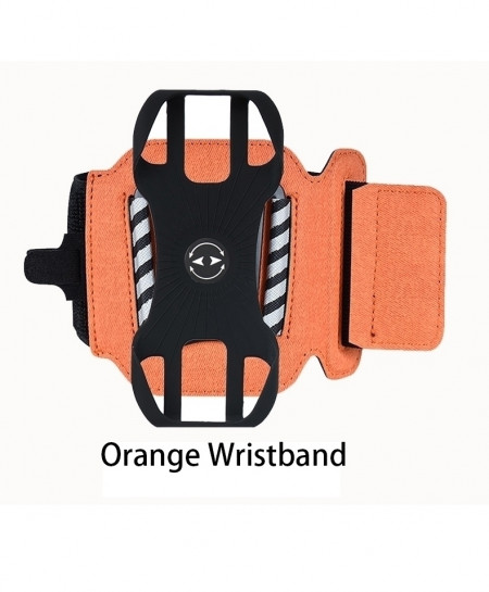 orange Wristband Sports Rotatable Case