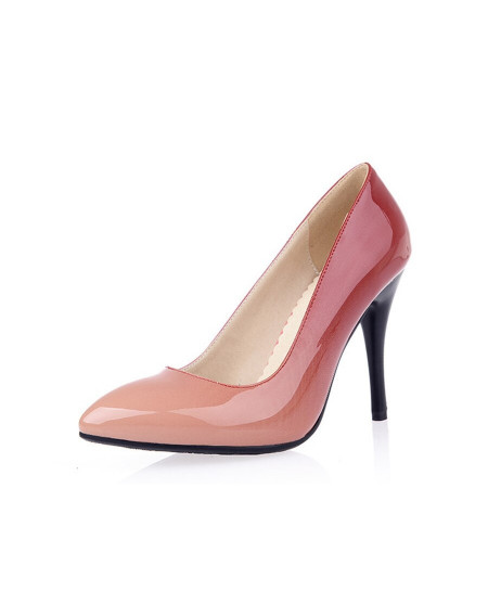 Lilyptuart Pink Patent Leather Pumps