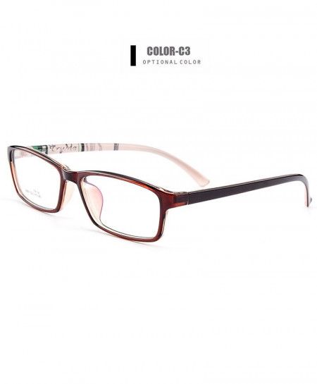 Gmei Optical Maroon Ultralight Flexible TR90 Optical Frame
